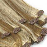 Набор волнистых волос из 8-ми прядей фабрики Elegant