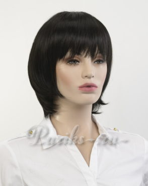 Парик модель; 3442AT каре, с моно вставкой, из термо волокна. Lovely Hair Collection