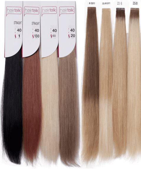 Набор из 20 прядей Hair Talk 40 см и 50 см
