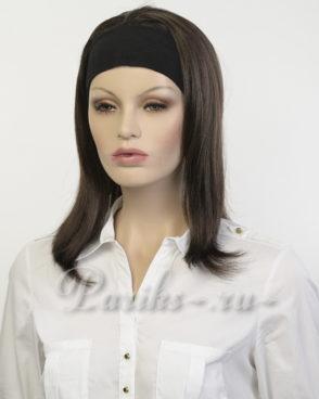 Парик на повязке модель; Monaca, длинный, прямой. «Elegant hair collection»