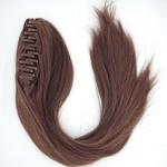 Шиньон модель; 10289 HH из натуральных волос, на крабе 45-50 см
