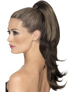 Шиньон модель; 10289 HH из натуральных волос, на крабе 50 см