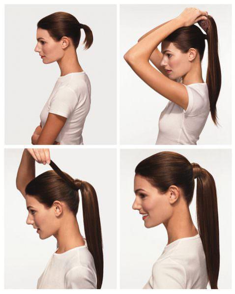 Модель 3901 HH. Шиньон из натуральных волос