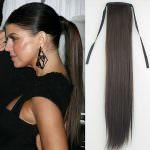 Шиньон модель: 3901HH из натуральных волос, на завязках, длинна волос 55 см, Волосы Remy Hair Вес 100 грамм