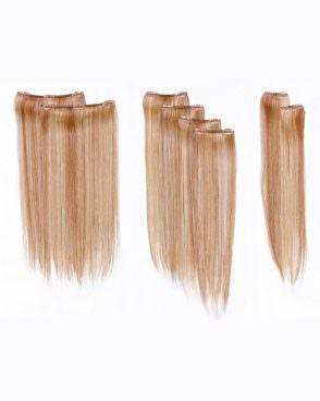 Набор прядей 1672 из восьми прядей из термо волокна 57 см. Lovely Hair Collection