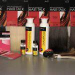 Набор прядей из натуральных волос с полимерным креплением Hair Talk 40 прядей по 4 см